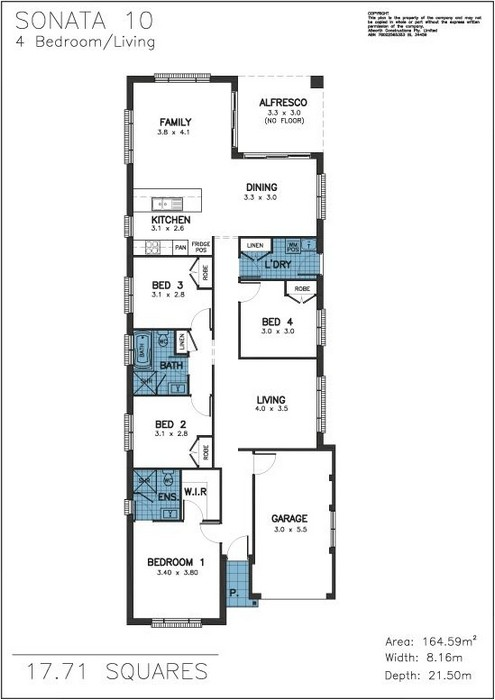 Z. Sonata Floor Plan 1