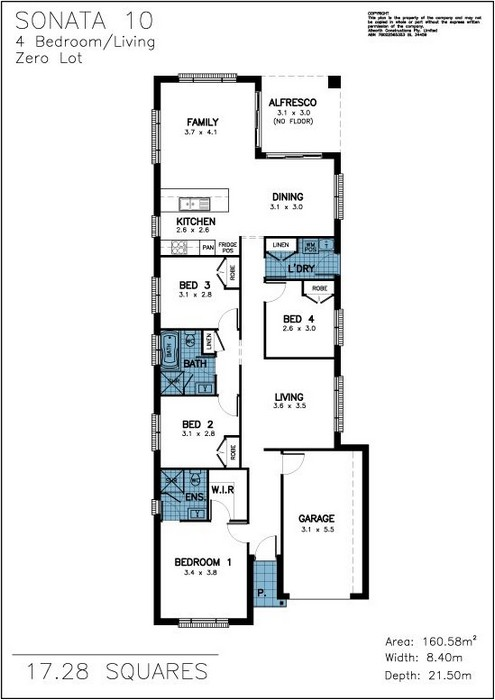 Z. Sonata Floor Plan 2