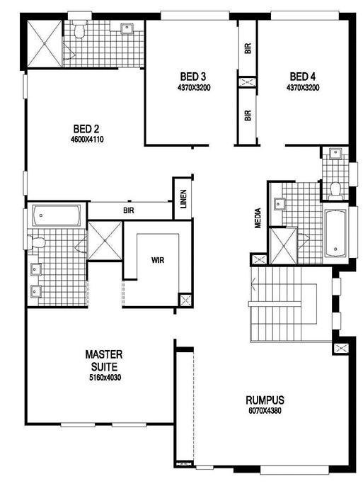 z. Floor Plan First Floor