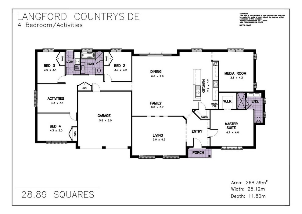 z. Langford Countryside Floor Plan 2