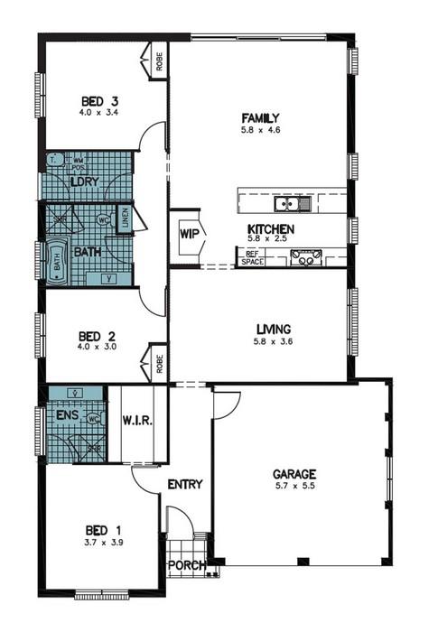 z. Pembrey Floor Plan 1
