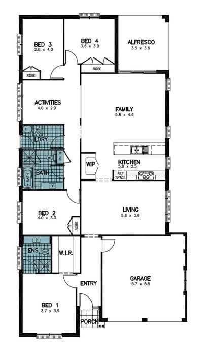 z. Pembrey Floor Plan 3