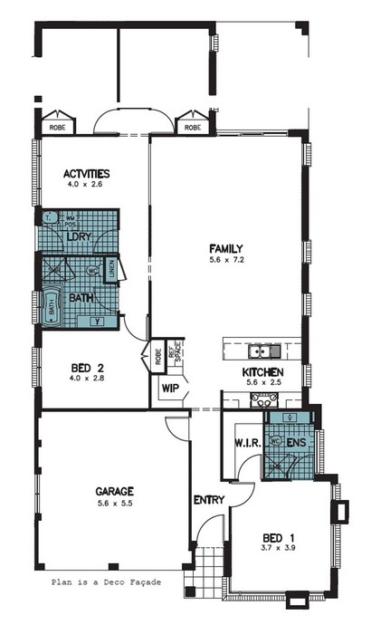 z. Pembrey Floor Plan 7