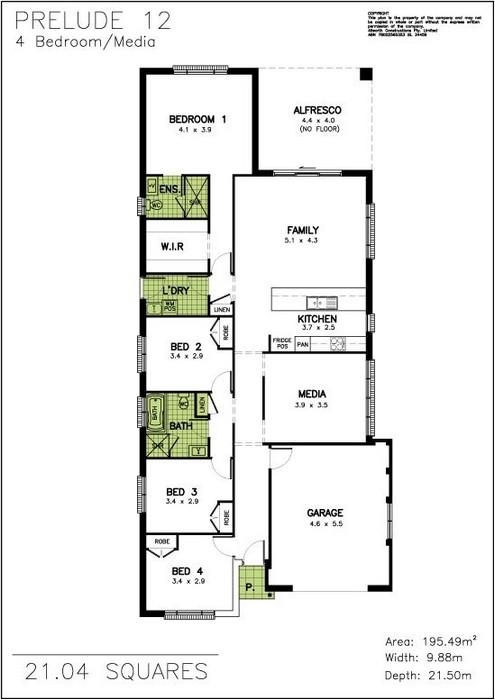 z. Prelude Floor Plan 1