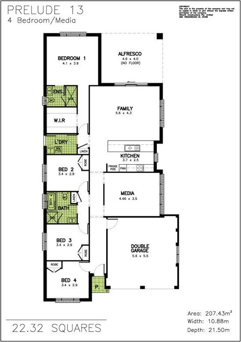 z. Prelude Floor Plan 12