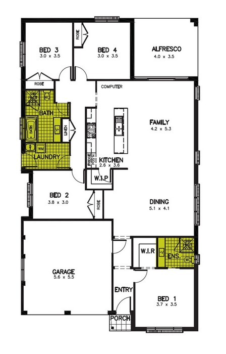 z. Sebring Floor Plan 2