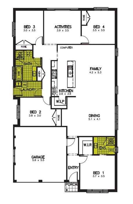 z. Sebring Floor Plan 3