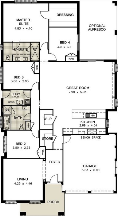z. Sonoma Floor Plan 1