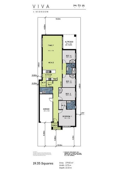 Viva 4 Bedroom Allworth Homes House Seek