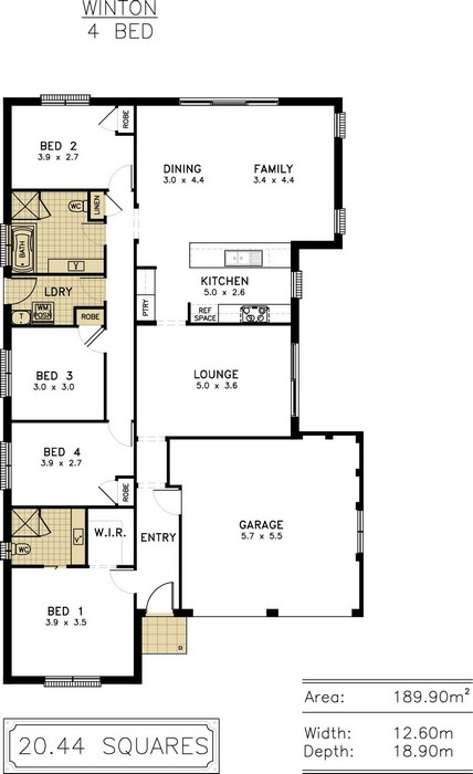 z. Winton Floor Plan 2