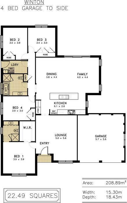 z. Winton Floor Plan 7