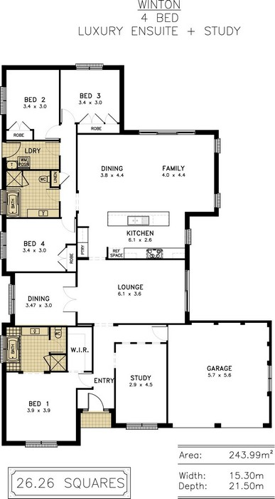 z. Winton Floor Plan 8