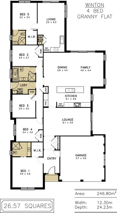 z. Winton Floor Plan 9