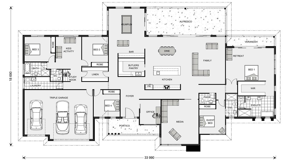 Somerset Prestige 513 G J Gardner Homes House Seek