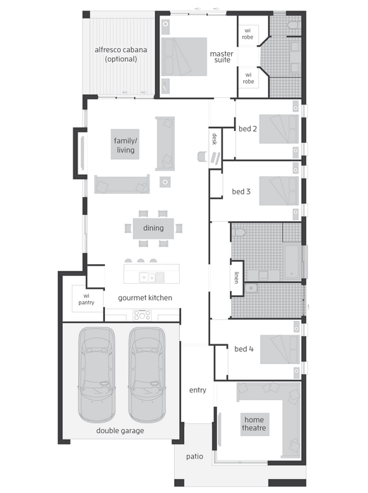 z. BORDEAUX URBAN Floor Plan