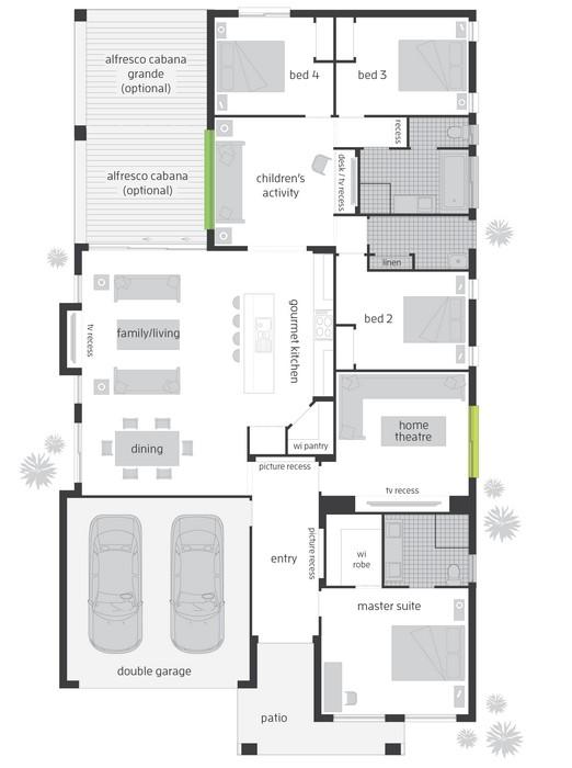 z. HAVANA ONE Floor Plan