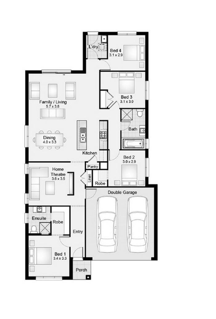 Sienna 20 Clarendon Homes House Seek