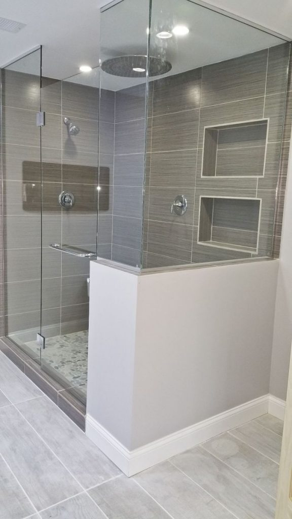 cool shower space